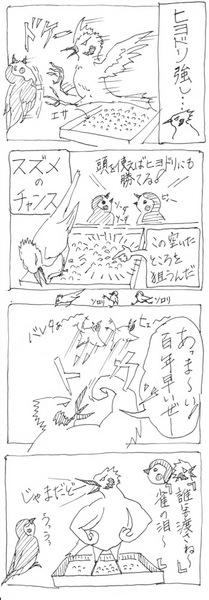 2015-06-29ヒヨドリとスズメ (1).jpg